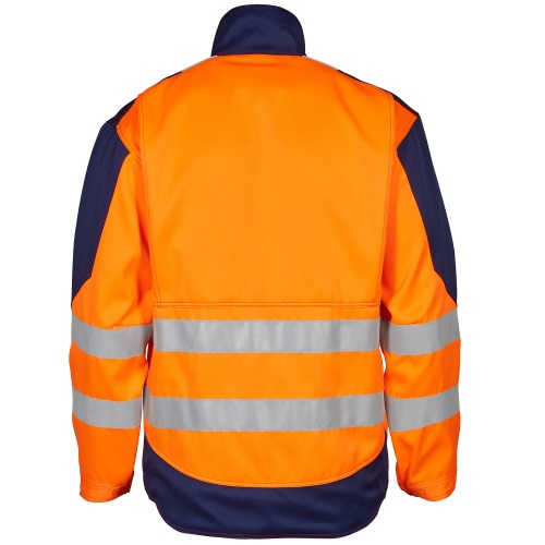 Safety+ Jakk EN 20471 - Oranž/Navy