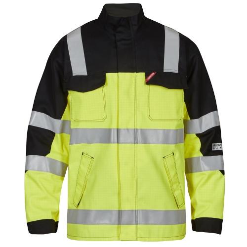 Safety+ Arc Jakk EN 20471 - Kollane/Must