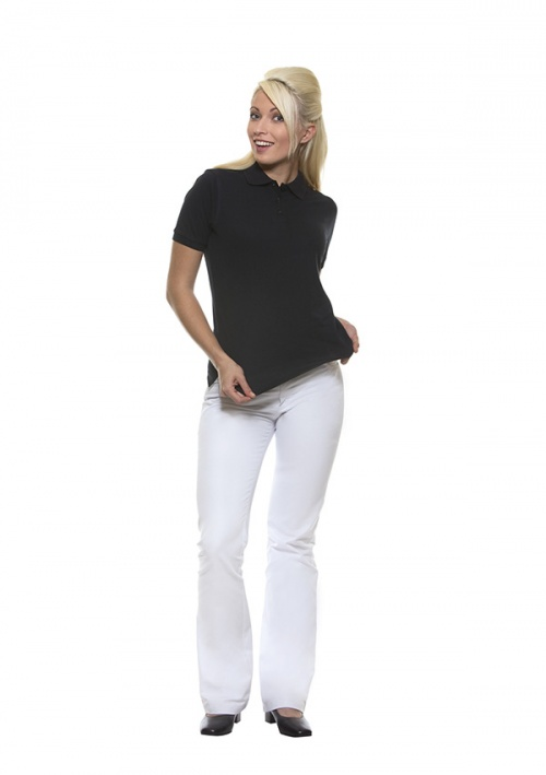 Naiste Polo Särk Basic - Must
